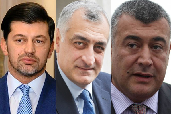 """დედაქალაქის მერობის სამი კანდიდატი """"ქართული ოცნებიდან"""""""
