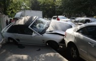რუსთავი-თბილისის ავტომაგისტრალზე ავარია მოხდა