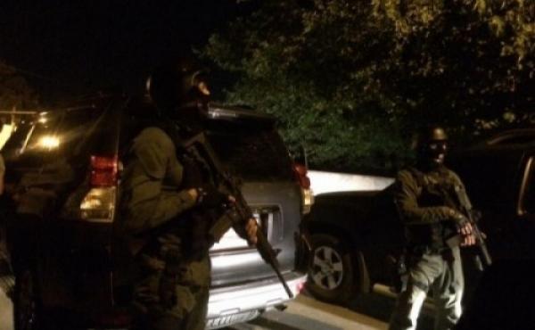 ფონიჭალაში გუშინდელი სპეცოპერაციის ადგილას პოლიციაა მობილიზებული