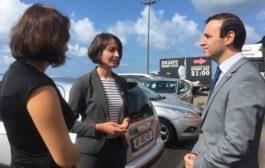 თურქეთის გენერალური კონსული სარფში აჭარის ტელევიზიის ხელმძღვანელობას და ჟურნალისტებს შეხვდა