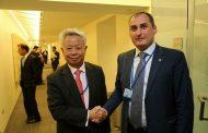 დიმიტრი ქუმსიშვილი აზიის ინფრასტრუქტურის საინვესტიციო ბანკის  პრეზიდენტს შეხვდა