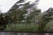 26 მარტამდე საქართველოში ძლიერი ქარი და წვიმაა მოსალოდნელი