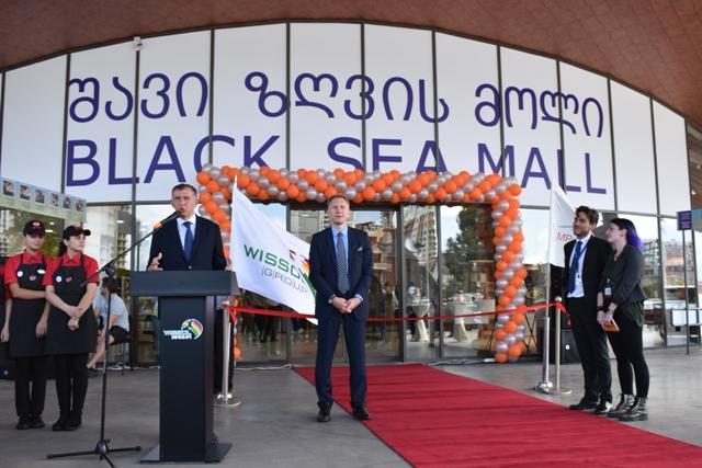 """""""ვისოლ ჯგუფის"""" შვილობილმა კომპანიამ """"ემ პე დეველოპმენტმა"""" ბათუმში სავაჭრო ცენტრი - Black Sea Mall -ი გახსნა"""