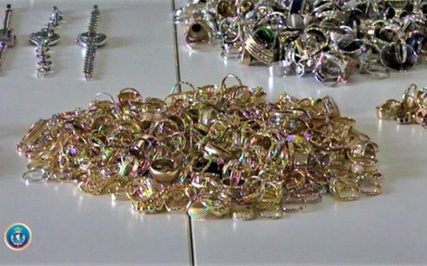 საბაჟოზე 21 კგ ოქროს კონტრაბანდის ფაქტზე ერთი პირია მხილებული
