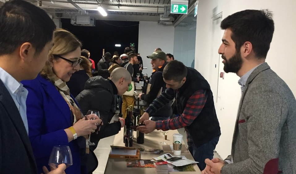 ქართული ღვინის წარდგენა ლონდონში