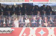 მსოფლიო ჩემპიონატის გახსნის ცერემონიას რუსეთში, დე ფაქტო ლიდერები დაესწრნენ