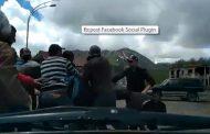 გუდაურში ადგილობრივებმა რუსი პარაპლანისტი სცემეს (ვიდეო)