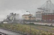 ხიდის ჩანგრევის შედეგად იტალიაში ათობით ადამიანი დაიღუპა (ვიდეო)